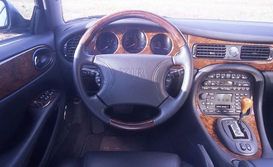 2000 Mercedes-Benz E55 AMG, BMW M5, and Jaguar XJR - Slide 6