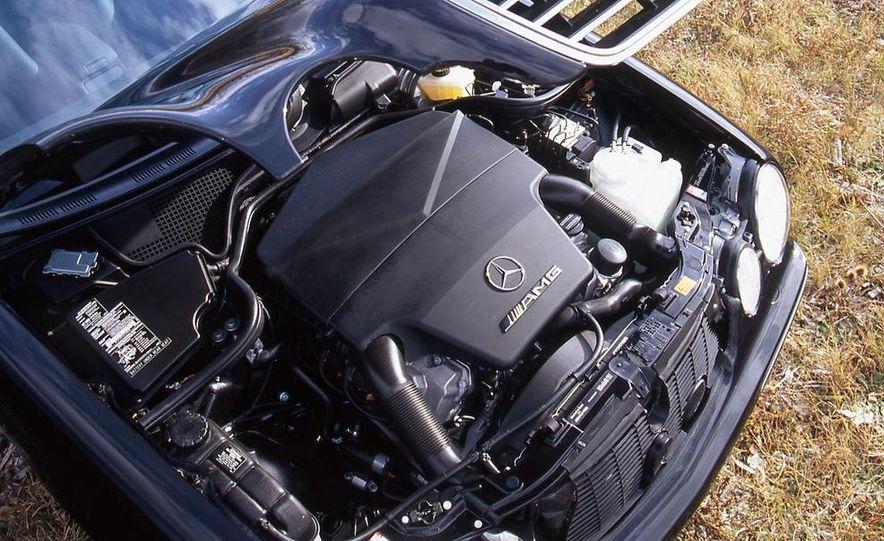 2000 Mercedes-Benz E55 AMG, BMW M5, and Jaguar XJR - Slide 10