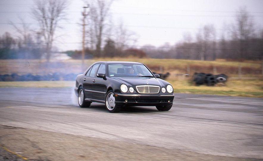 2000 Mercedes-Benz E55 AMG, BMW M5, and Jaguar XJR - Slide 7