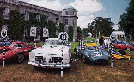 The Anciens Pilotes of Goodwood