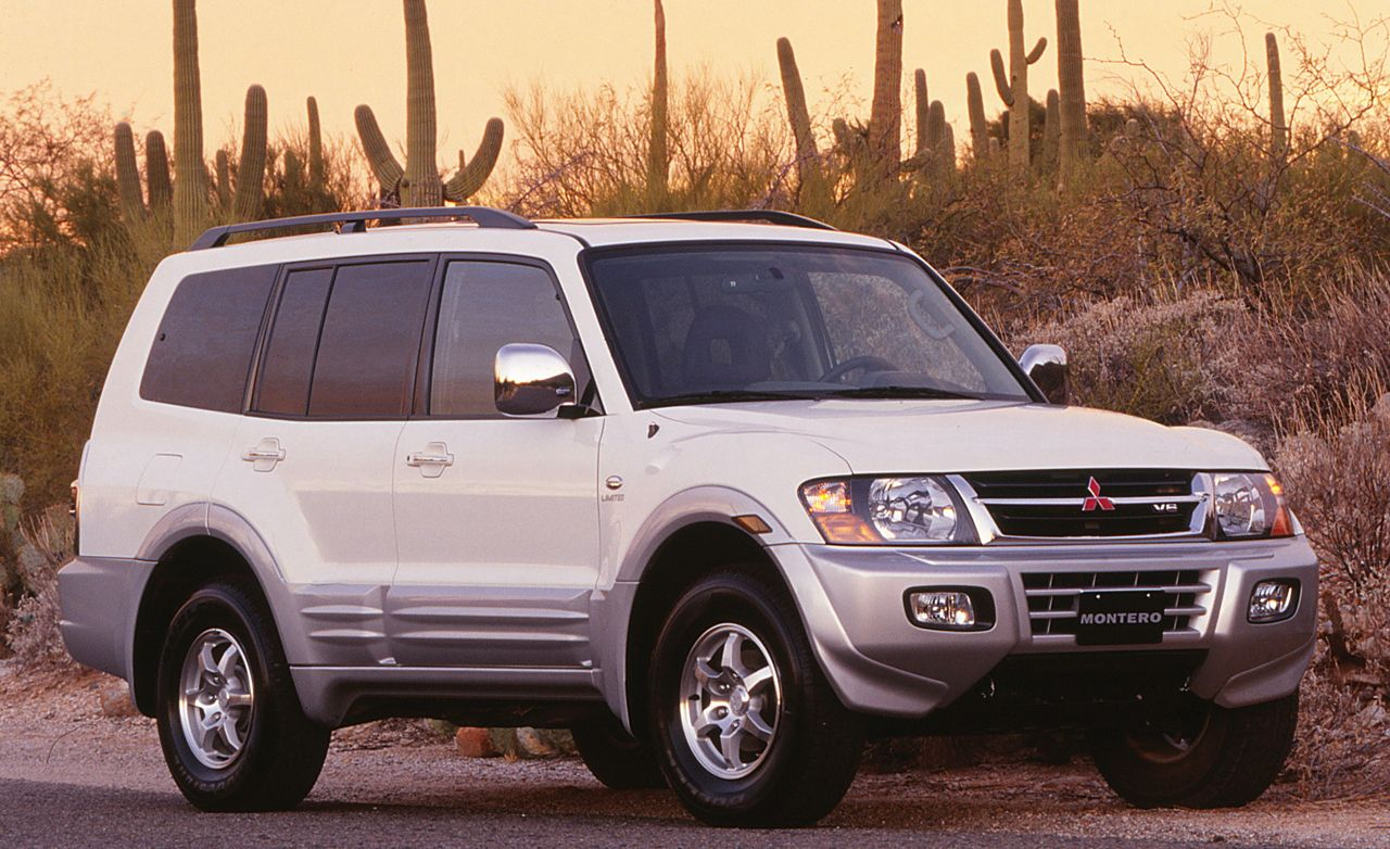 2001 Mitsubishi Montero Road Test Review Car And Driver