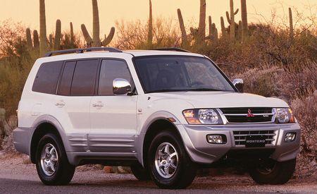 2001 Mitsubishi Montero