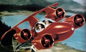 The Amazing Flying Car of Tomorrow!