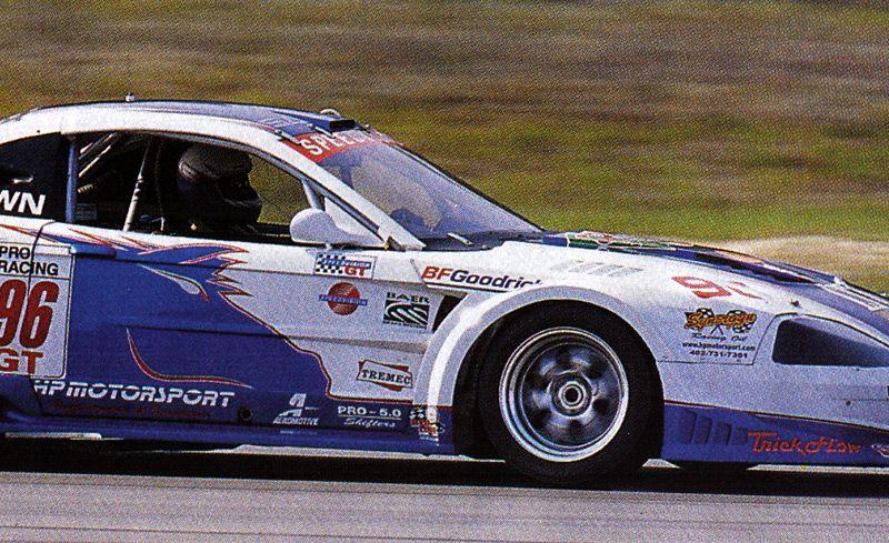 HP Motorsport Saleen Mustang