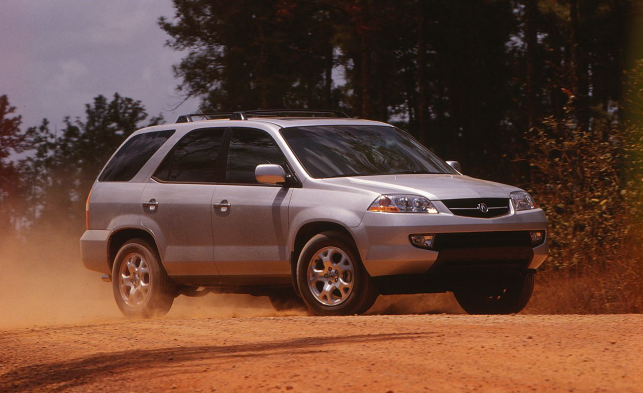 Click here for each car s actual lap time at caranddriver com look - 2001 Acura Mdx