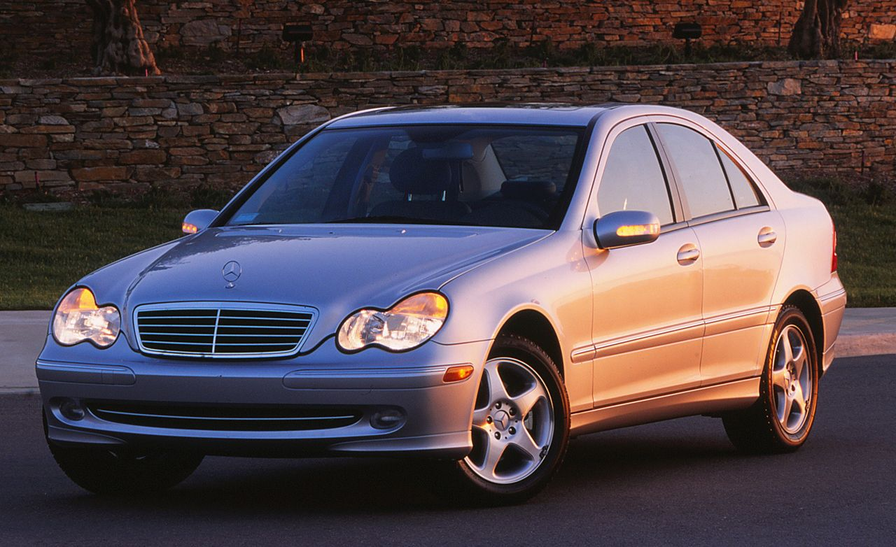 2001 MercedesBenz C240C320 Road Test  Review  Car and Driver