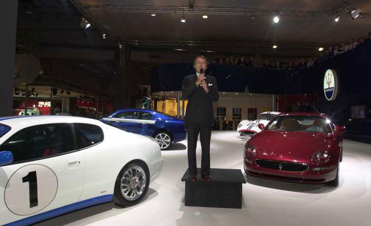 Maserati 3200GT and 250F
