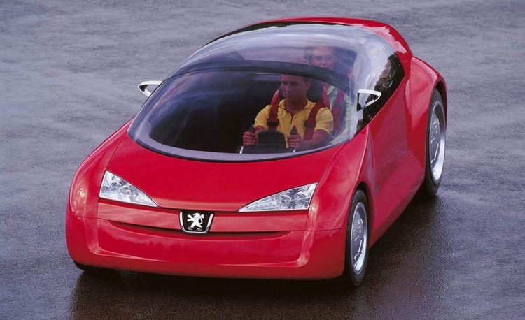 Peugeot Bobslid