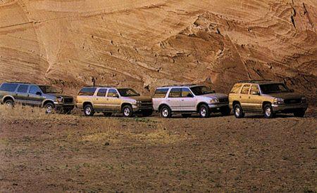 Chevrolet Suburban vs Ford Excursion Ford Expedition GMC Yukon