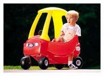 Little Tikes Cozy Coupe II and Deluxe Cozy Convertible