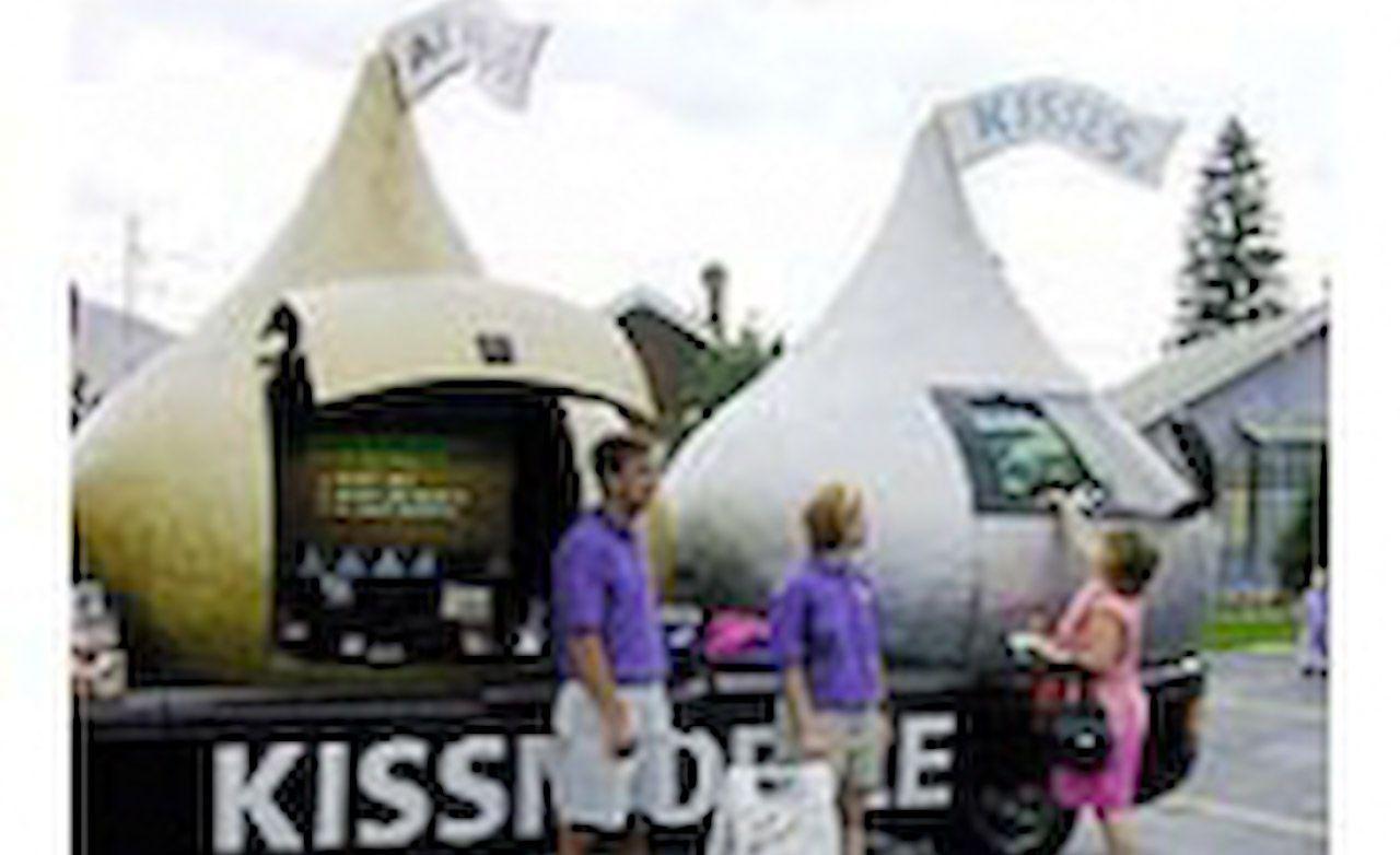 Hershey's Kissmobile