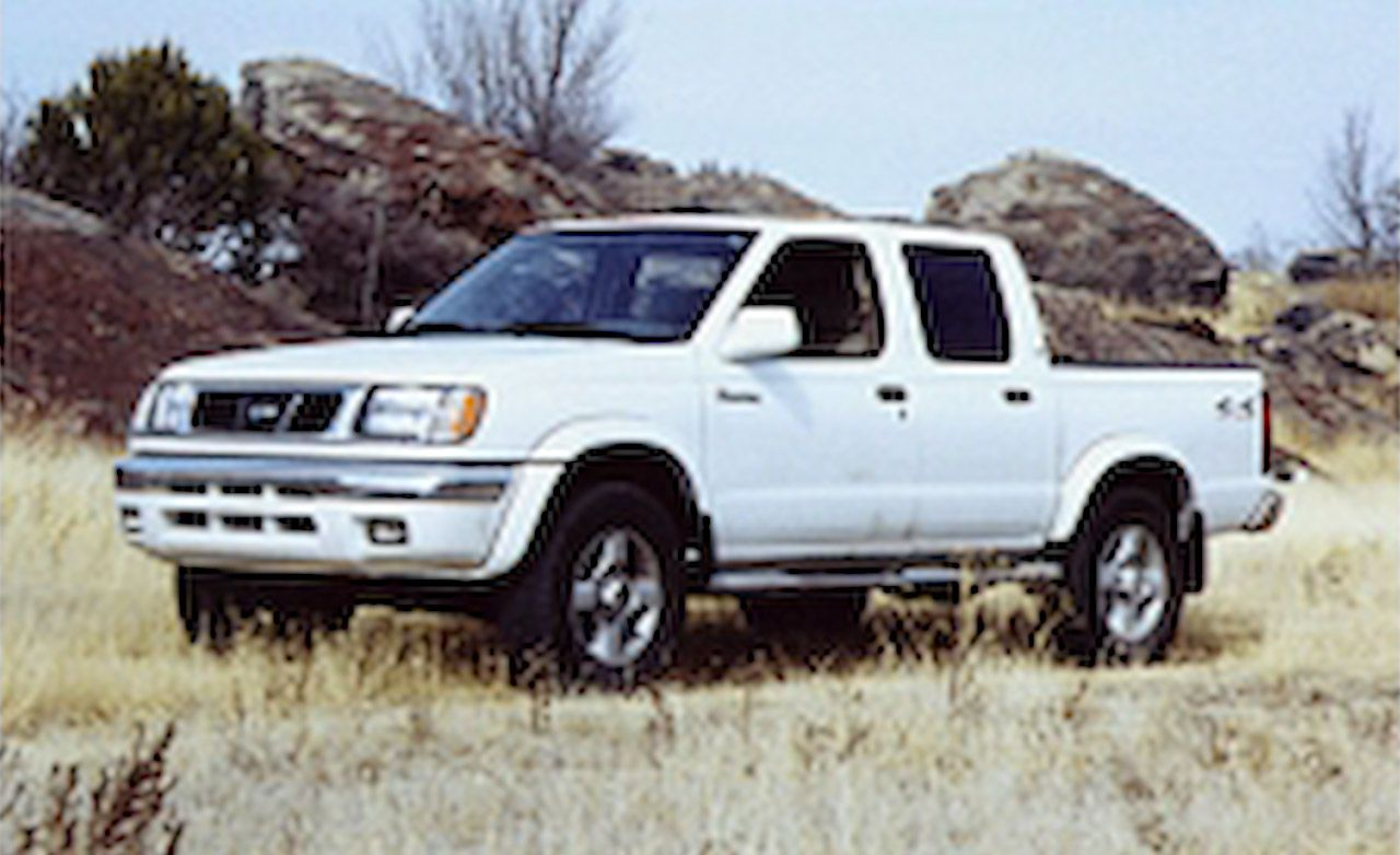 2000 nissan frontier se crew cab 4x4. Black Bedroom Furniture Sets. Home Design Ideas