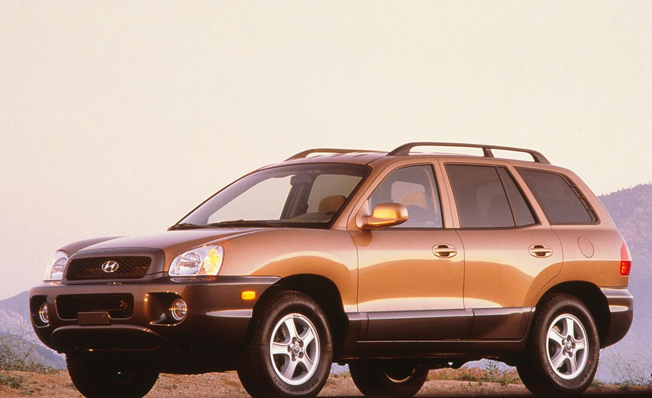 Good 2001 Hyundai Santa Fe