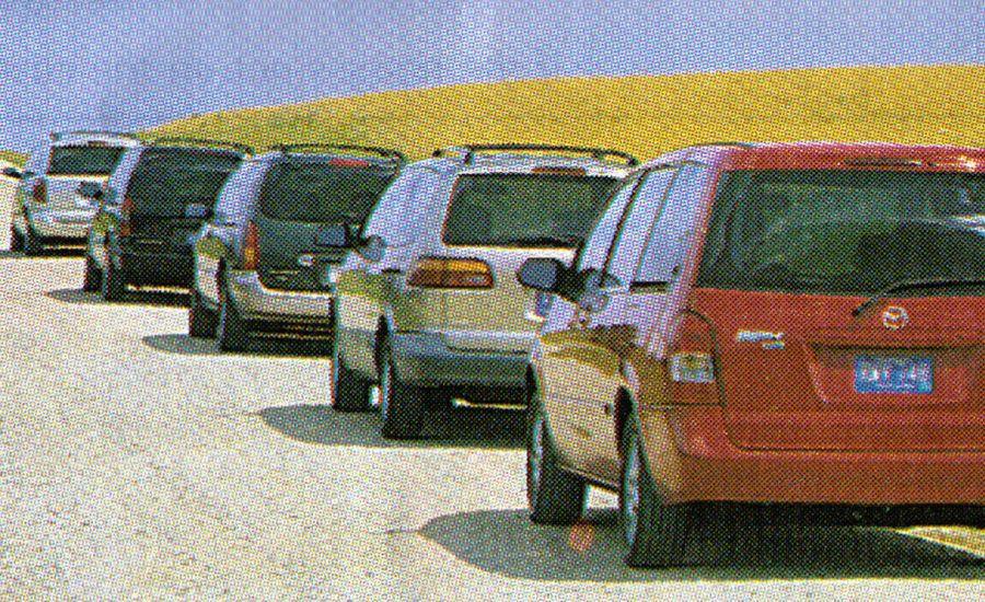 Chevrolet Venture vs. Nissan Quest, Mazda MPV, Toyota Sienna, Chrysler Voyager