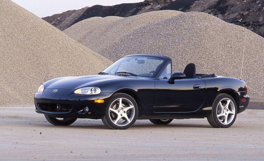 2001 mazda mx 5 miata instrumented test car and driver. Black Bedroom Furniture Sets. Home Design Ideas