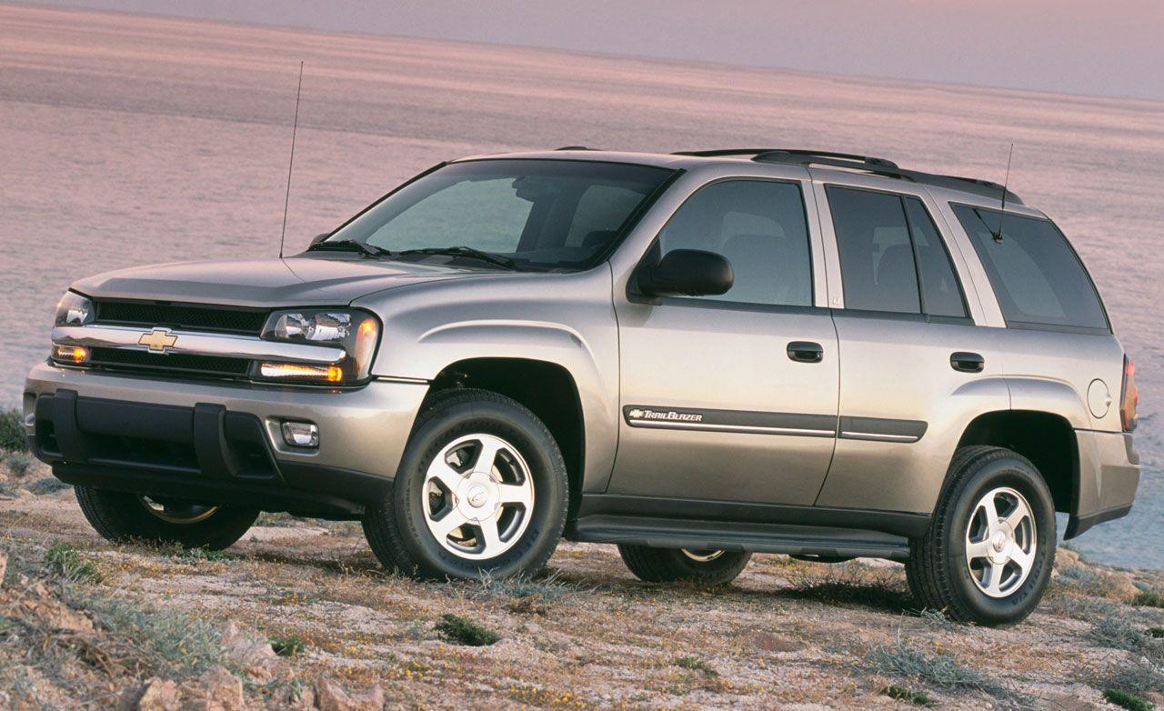 2002 chevrolet trailblazer gmc envoy oldsmobile bravada rh caranddriver com 2004 Chevy Trailblazer Parts Diagram 2004 Chevy Trailblazer SS