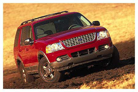 Ford Explorer Eddie Bauer X Road Test Reviews Car And - 2002 explorer