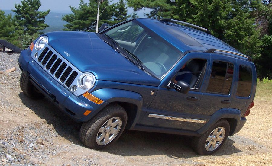 2002 Jeep Liberty  First Drive Review  Reviews  Car and Driver