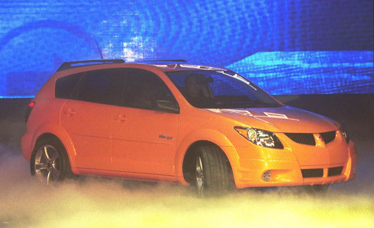 Pontiac 2002 pontiac vibe : 2003 Pontiac Vibe