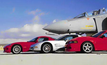 Dodge Viper GTS ACR vs. Chevy Corvette Z06, Ford SVT Mustang Cobra R