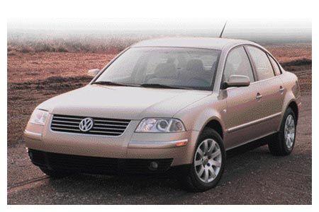 2001 1/2 Volkswagen Passat GLS 1.8T