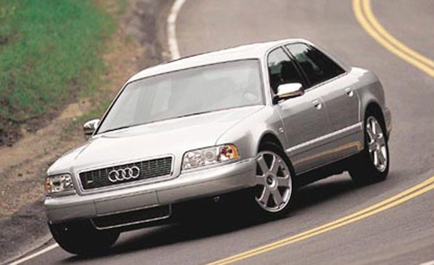 2001 audi s8 road test review car and driver. Black Bedroom Furniture Sets. Home Design Ideas