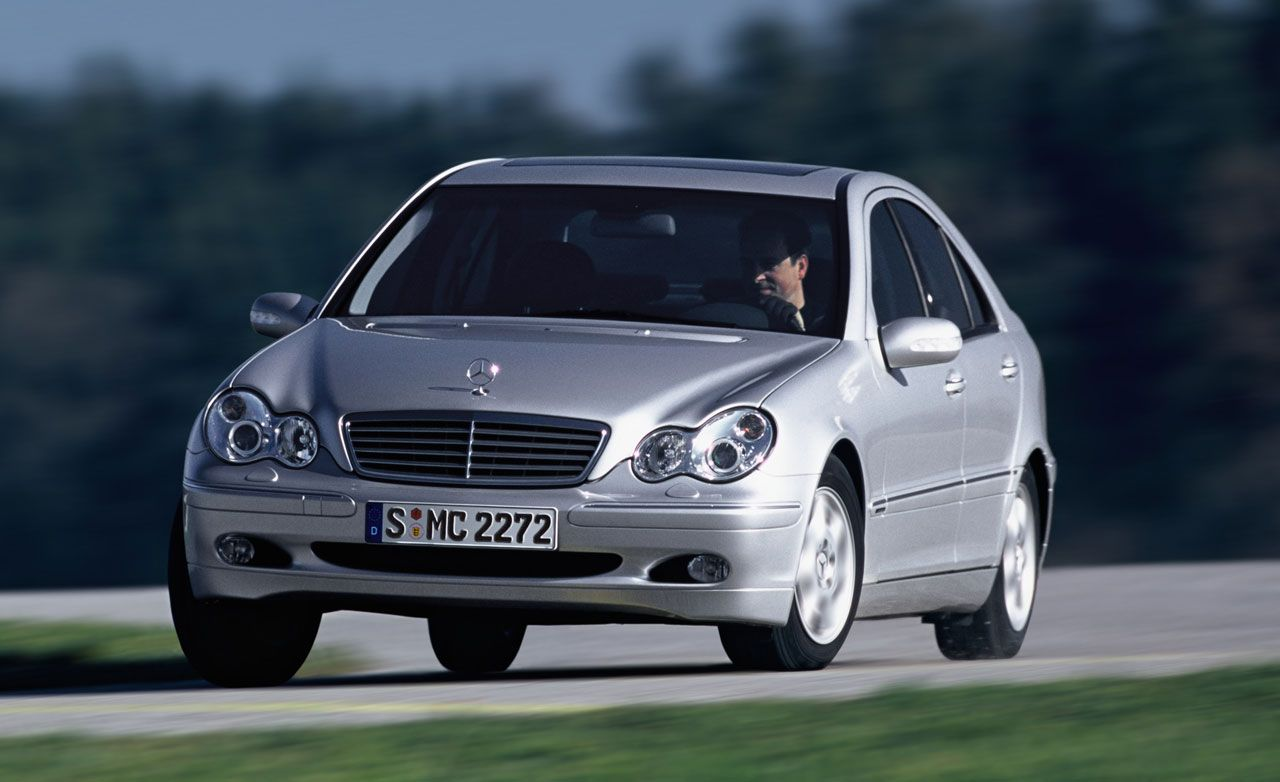 2002 Mercedes-Benz C230 Kompressor Sports Coupe