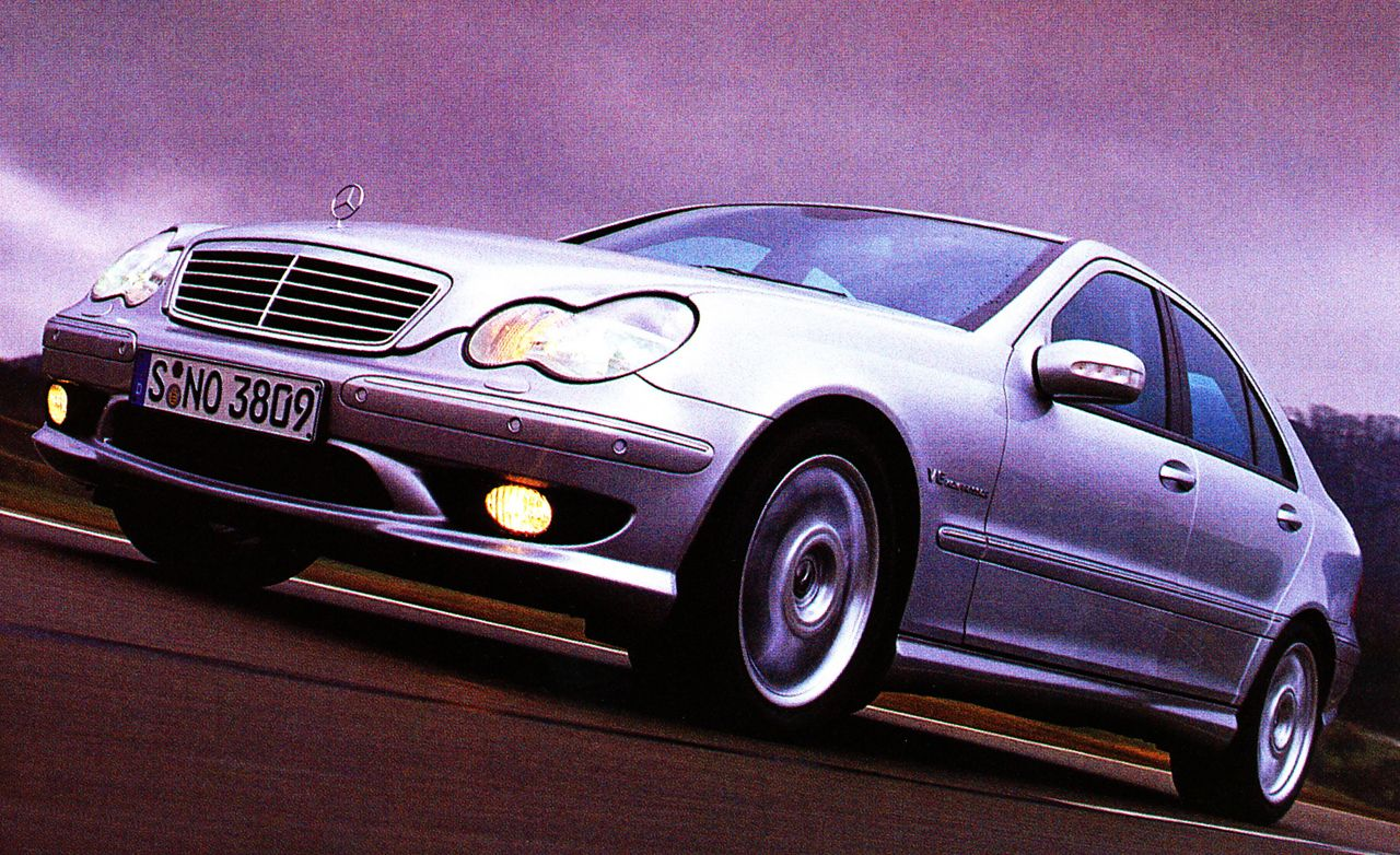 2002 Mercedes-Benz C32 AMG and SLK32 AMG