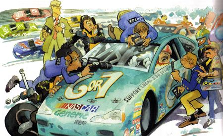 NASCAR 2001, Shaken but Not Shattered