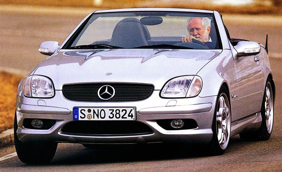 2002 Mercedes-Benz C32 AMG and SLK32 AMG