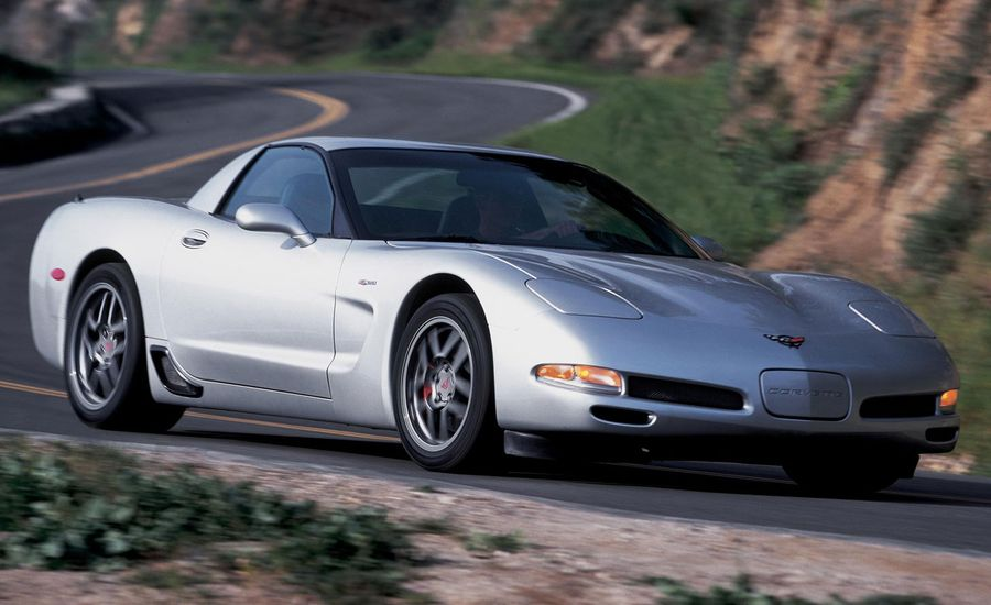 2002 Chevrolet Corvette Z06 Road Test | Review | Car and ...