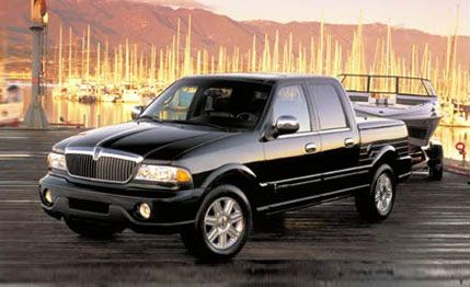 2002 Lincoln Blackwood Road Test | Review | Car and Driver