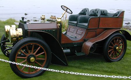 1902 Mercedes 45 hp Tourer