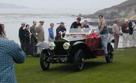 1914 Rolls-Royce Silver Ghost Labourdette Skiff