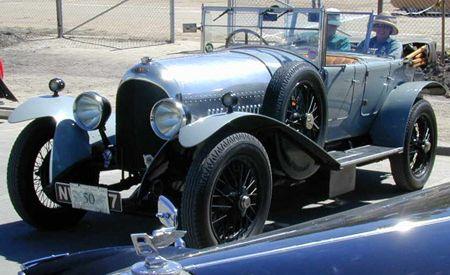 1924 Bentley 3 Liter Dual Cowl Phaeton
