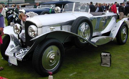 1928 Bentley 6 1/2 Liter Barker Open 2-Seater