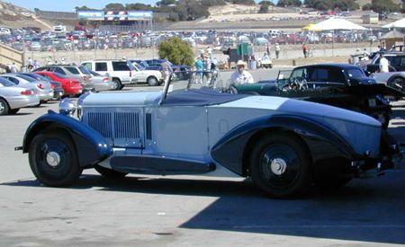1931 Bentley 8 Liter Barker Roadster