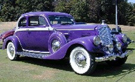 1934 Pierce Arrow 12 Cylinder Silver Arrow Coupe