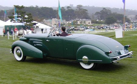 1936 Cadillac Series 90 Fleetwood Style Roadster