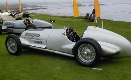 1937 Mercedes-Benz W125 Grand Prix Racecar