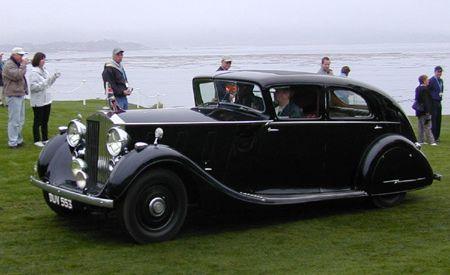 1937 Rolls-Royce Phantom III HJ Mulliner Saloon