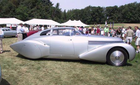 1938 Hispano-Suiza H6C Dubonnet Xenia Saoutchik Coupe