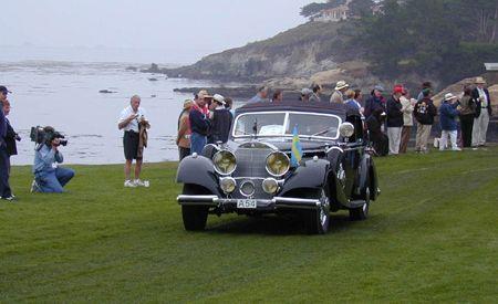 1938 Mercedes-Benz 540K Norrmalms Cabriolet B