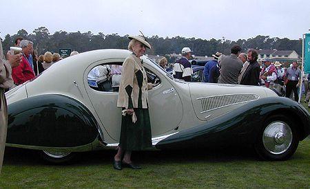 1938 Talbot-Lago T32 Figoni et Falaschi Coupe
