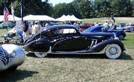 1939 Delage LeTourneur et Marchand Aero Sport Coupe