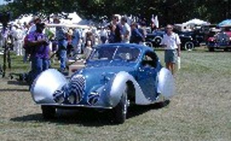 1939 Talbot Lago Tear Drop T-150C-SS Model New York