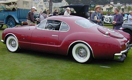 1952 Chrysler d'Elegance Ghia Coupe