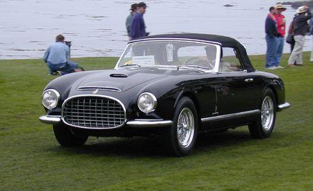 1952 Ferrari 342/375 America Pinin Farina Cabriolet