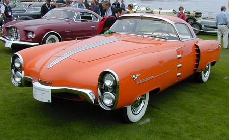 1955 Lincoln Indianapolis Coupe