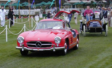 1956 Mercedes-Benz 300SL Gullwing Coupe